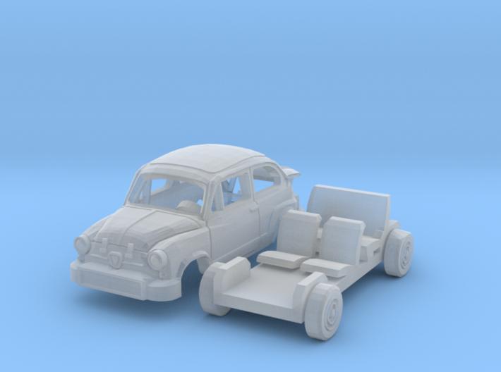 Fiat Abarth 850 TC Corsa (1/144) 3d printed