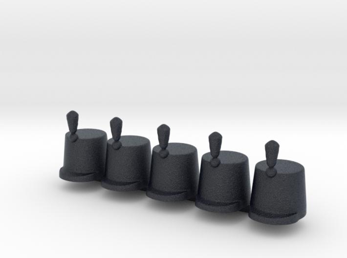 5 x British Stovepipe 3d printed