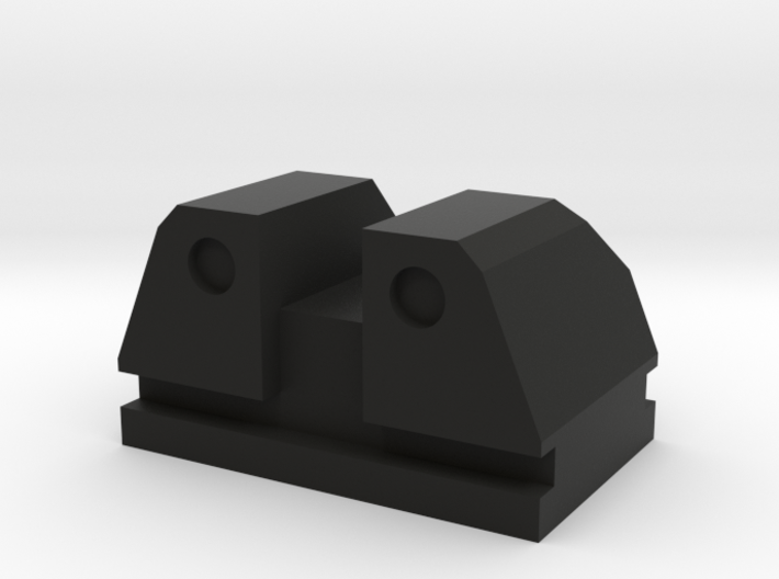 PPQ Tactical rear sight type 1 3d printed