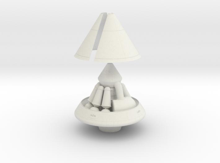 1/144 MARS EXCURSION MODULE W/ SHROUD & RETRO PACK 3d printed