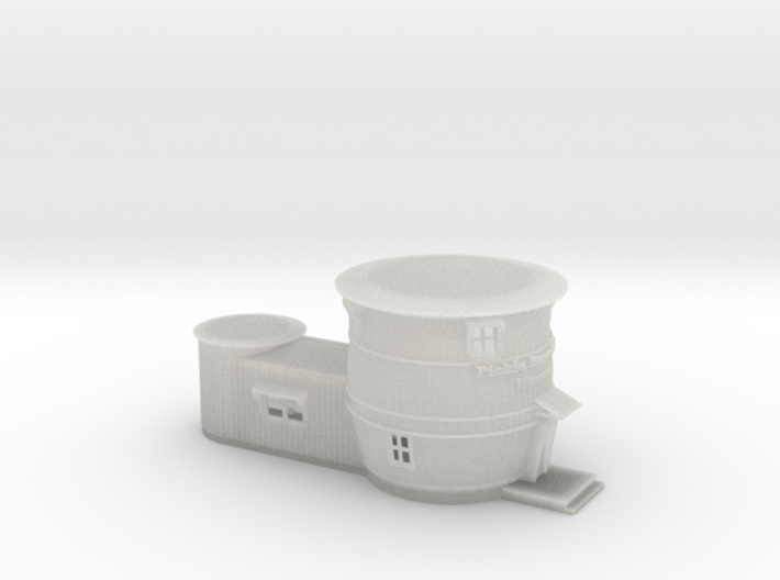 Pickle Barrel House Museum 3d printed Pickle Barrel House Z scale