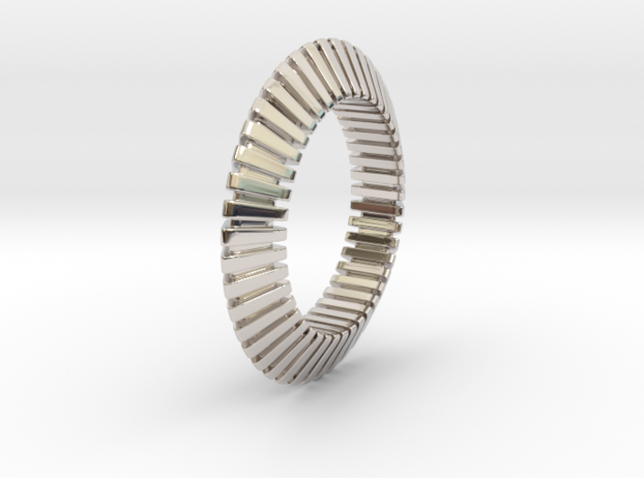 Patrick Triangle - Ring  3d printed