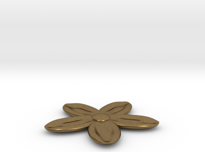 Flower for with a Magnet 3d printed