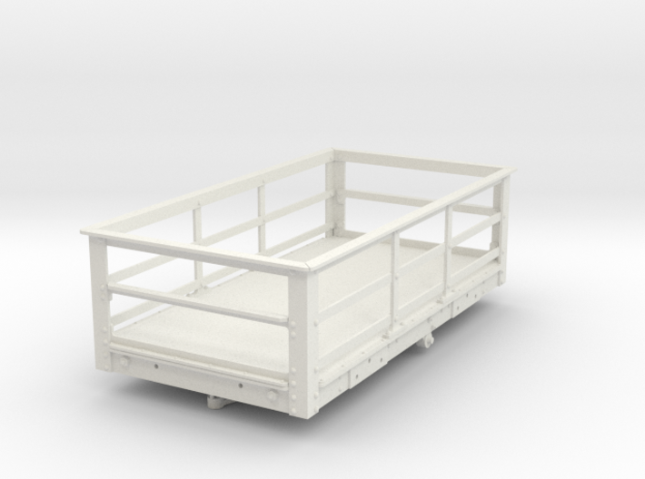 FRB14 FR Ton Slate Wagon, Braked SM32 3d printed