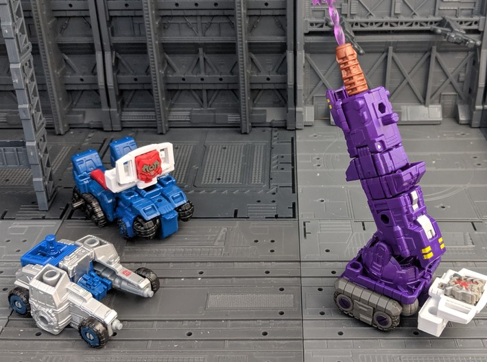 TF CW Truck Matrix adapter 3d printed Compatible with other Transformers figures