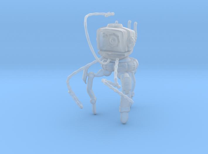 Mechanical Martian Tripod 15mm 1:100 3d printed