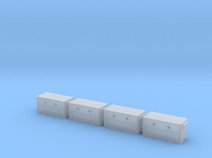 Budd Battery Box 4Pack 3d printed