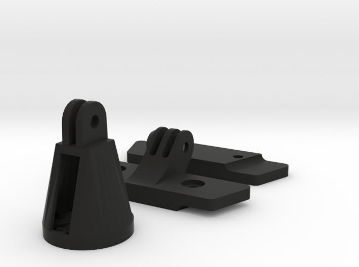 Saddle Gopro Extension + Varia Adapter 3d printed