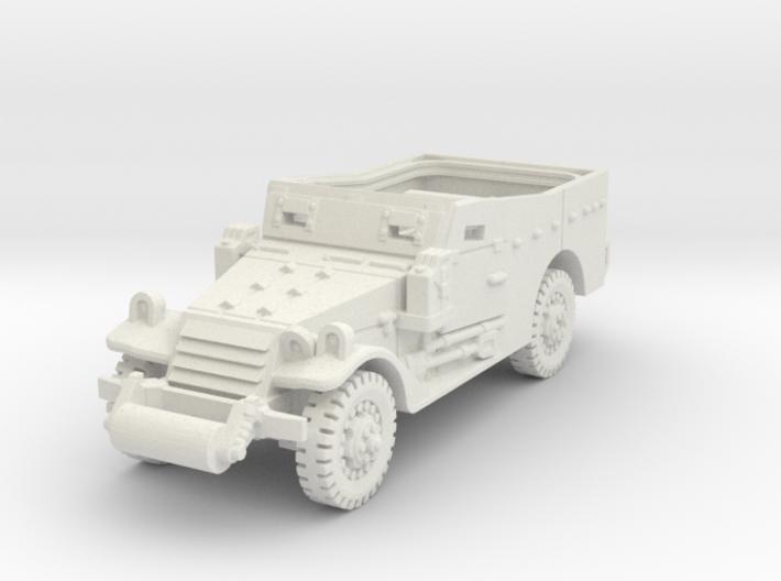 M3A1 Scoutcar late (open) 1/87 3d printed