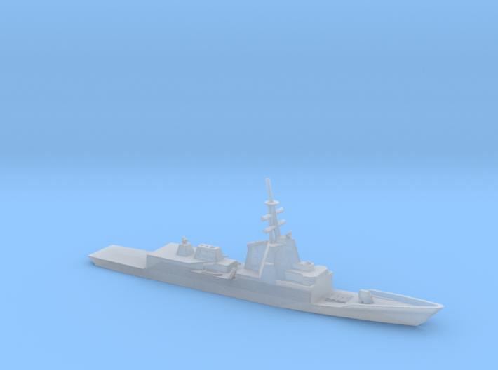 1/2400 Scale Spanish frigate Álvaro de Bazán 3d printed