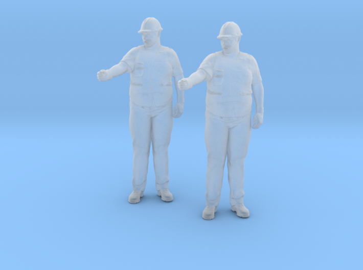 Construction Worker 3d printed