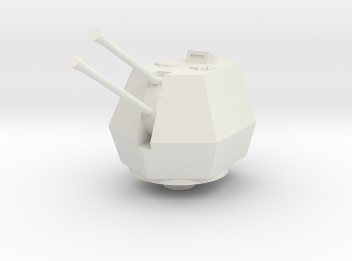 37mm Flakzwilling 43 close turret 1:87 3d printed
