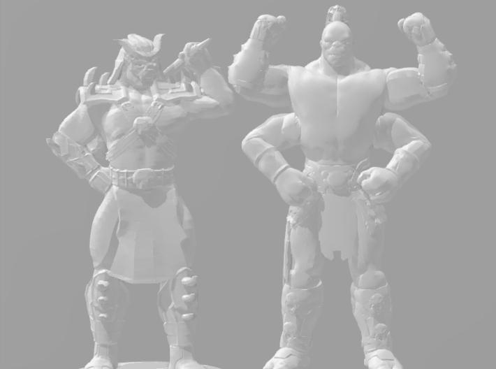 Mortal Kombat Goro DnD 1/60 miniature 4 games rpg 3d printed