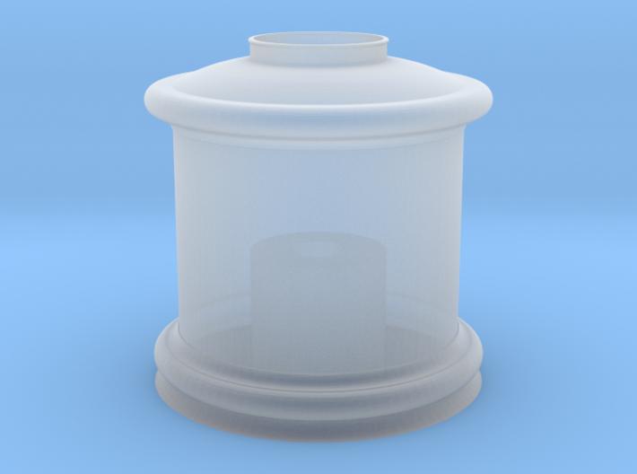 HO Steam Dome for Bachmann 4-4-0 - Roy O. Disney 3d printed