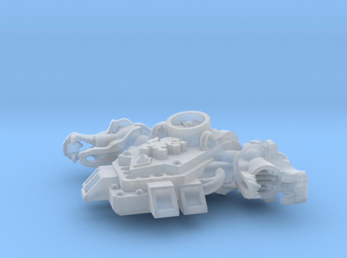 Wolf Rampant - G:4 Wolf Skull PACs 3d printed