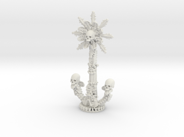 Sedlec Ossuary Bone Monstrance 3d printed