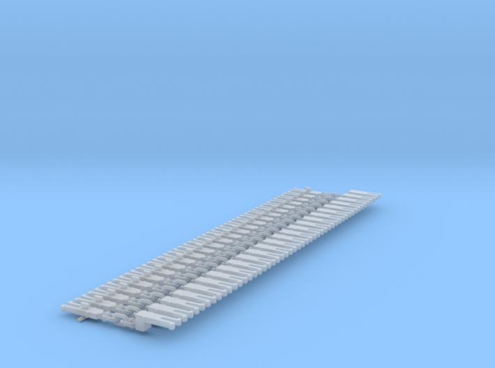 NEM OO Type 6 Couplings - Adaptor 3 Link x25 3d printed