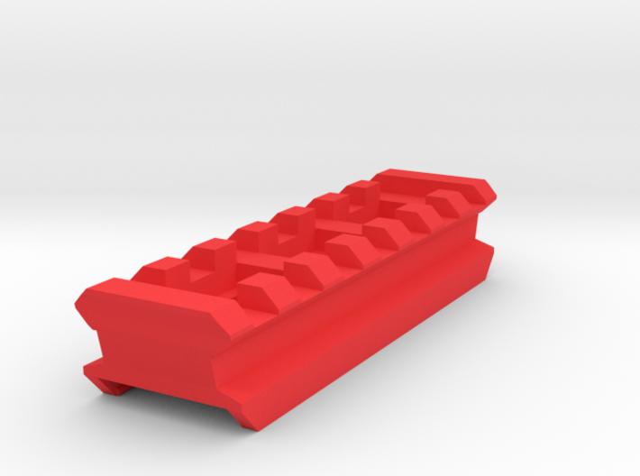Top Picatinny Rail (7-Slots) for X-Shot Fury 4 3d printed