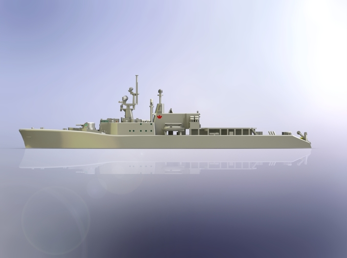 HMCS DDH 206 Saguenay 1965 1/700 3d printed
