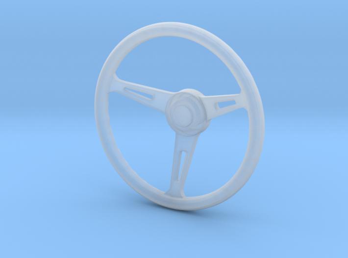 1:12 Three spoke Steering Wheel 3d printed