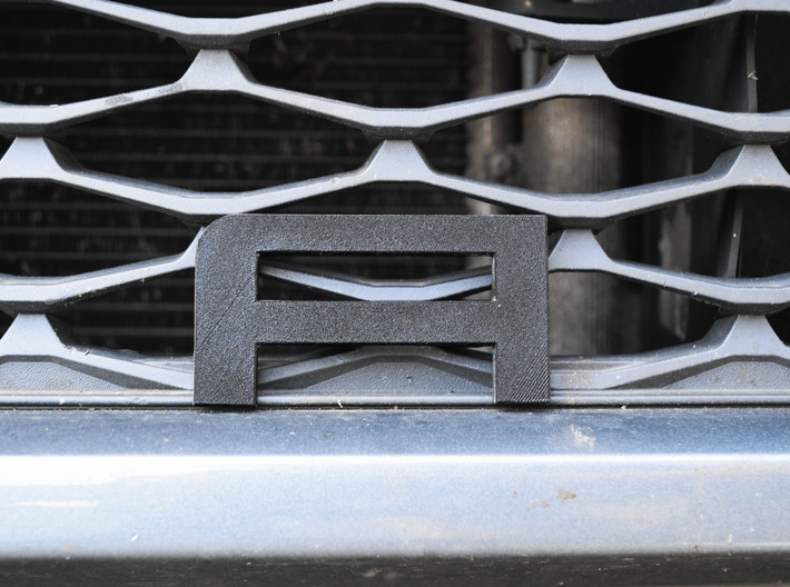Cupra Lower Grill 'A' 3d printed yes the car needs a wash
