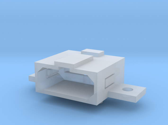 Super Nintendo (SNES) A/V Socket Connector 3d printed