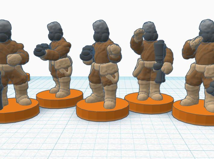 ISB Elites and Characters 3d printed