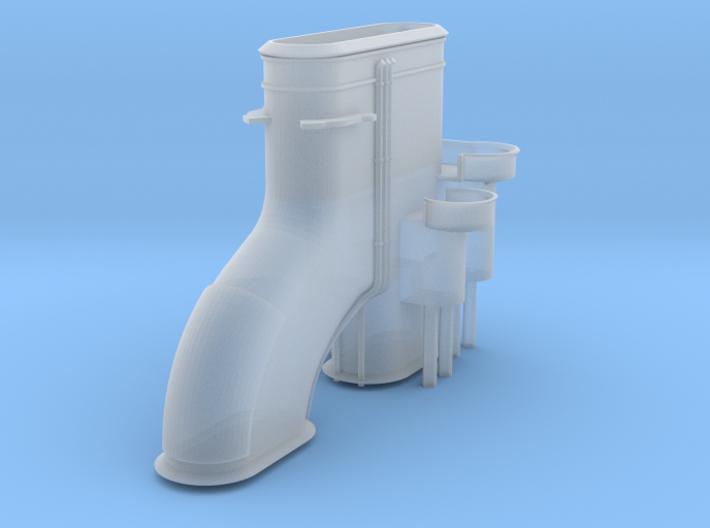 1/600 HMS Barham Funnel 3d printed