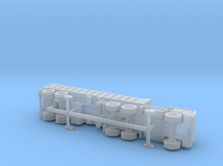 M1088 Tractor w. M871A2 Breakbulk Trailer 1/144 3d printed