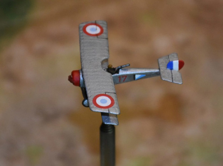 "Nieuport 12 3d printed Photo and paint job courtesy Peter ""Teaticket"" at wingsofwar.org"
