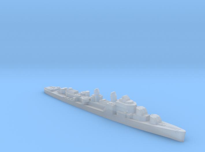 USS Allen M. Sumner destroyer 1944 1:2400 WW2 3d printed