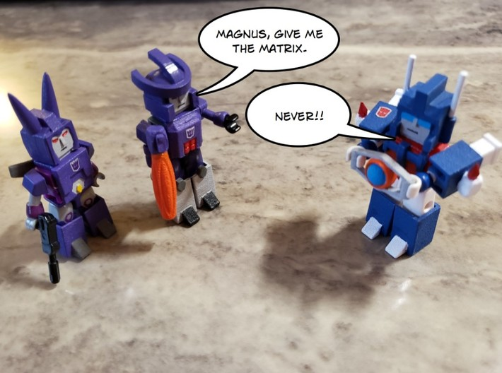 Armor for Galvatron,Scourge,Cyclonus Kreons (1/2) 3d printed