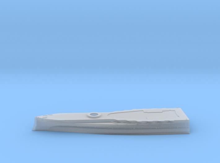1/600 HMS Barham Hull Forward Waterline Model 3d printed