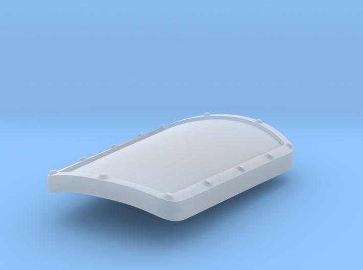 Blank - Manowar Boarding Shields (L) 3d printed