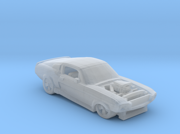 Shelby racing GT500 3d printed
