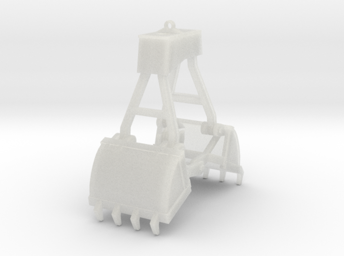 Clamshell Bucket 10' 3d printed