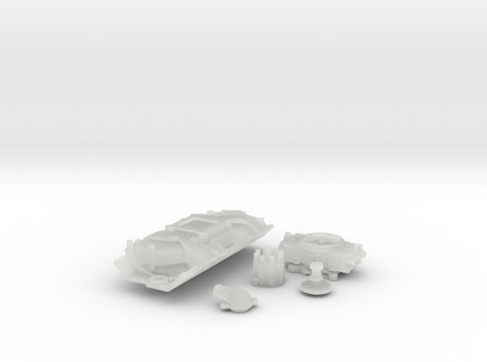 1/16 Scale Stock BBC 4 BBL Intake Kit 3d printed