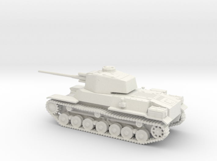 1/87 IJA Type 4 Chi-To Medium Tank 3d printed
