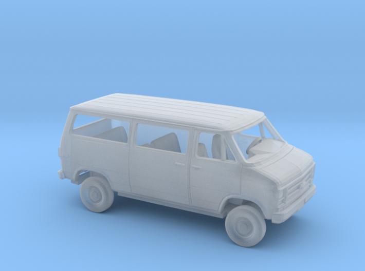 1/87 1979-83 Chevy G Van Sliding Side Rear Hatch D 3d printed