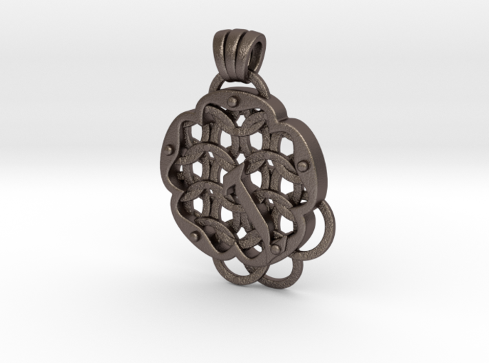 Chain Mail Pendant I 3d printed