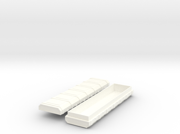 FTM Rocket Crate (extra long) 3d printed