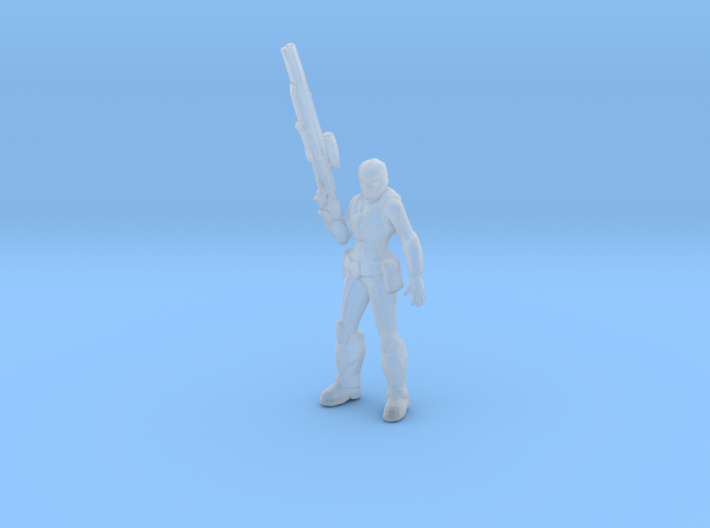 Gears of war Onyx Guard female miniature boardgame 3d printed