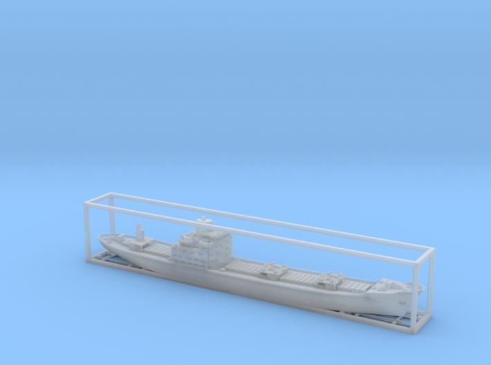 1:1250 ship model Nedlloyd Gooiland  3d printed