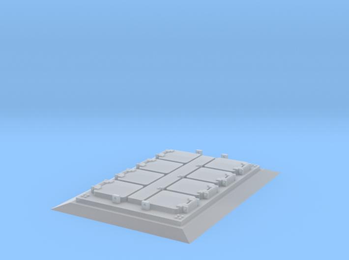 1/96 scale VLS Single Block - Nansen Class Only 3d printed