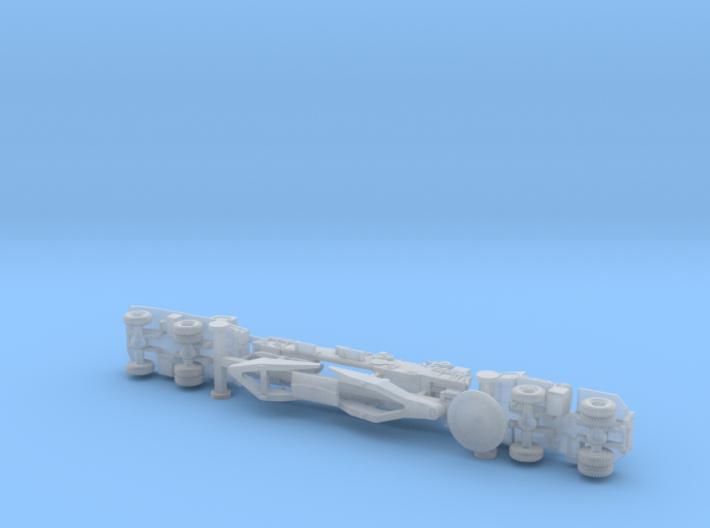 """M65 280mm Gun """"Atomic Annie"""" (firing) 1/200 3d printed"""