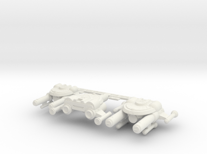3125 Scale Seltorian Strike Carrier Group MGL 3d printed