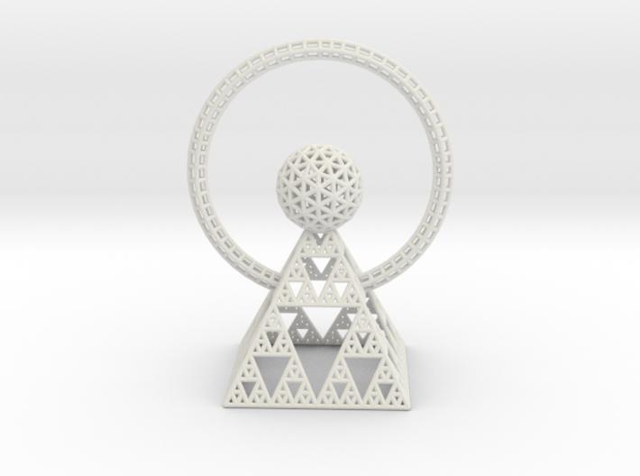 Sun Pyramid 3d printed