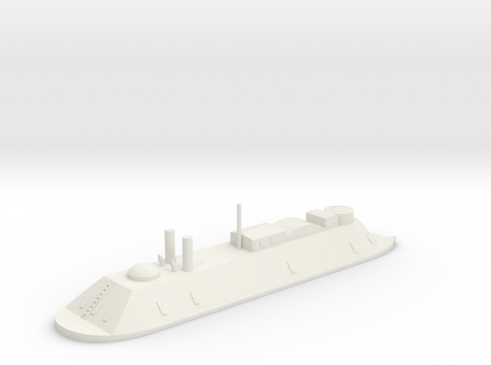 1/700 USS Essex (1862) 3d printed