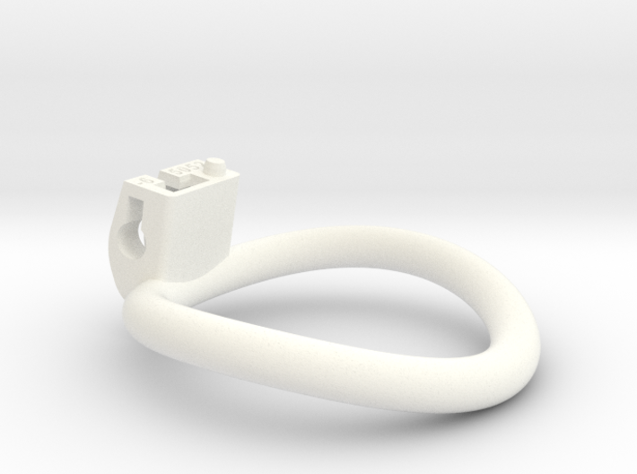 Cherry Keeper Ring - 50x52mm Tall Oval -6° (~51mm) 3d printed
