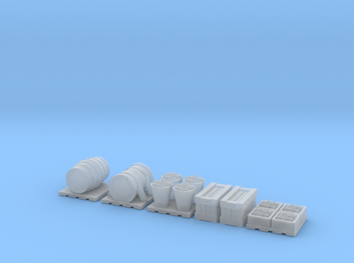 N Scale 1:160 Cargo Accessories 3d printed